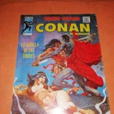 Cómics: RELATOS SALVAJES. CONAN EL BARBARO. LA BATALLA DE LAS TORRES . VOL 1 Nº 48. 1978. Lote 227872160