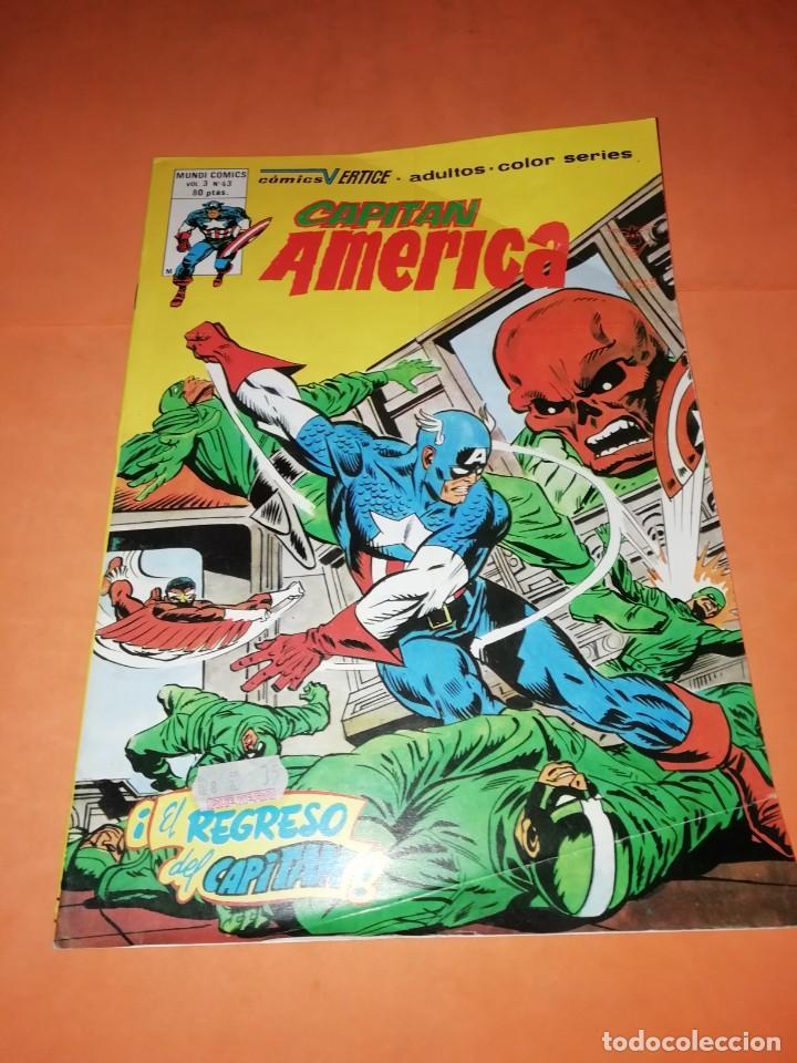 CAPITAN AMERICA. VOL 3 Nº 43. EL REGRESO DEL CAPITAN . EDICIONES VERTICE. (Tebeos y Comics - Vértice - Capitán América)