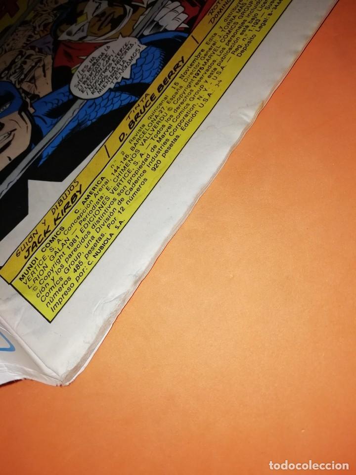 Cómics: CAPITAN AMERICA. Nº 2. VUELO LOCO . EDICIONES VERTICE. - Foto 3 - 228027720