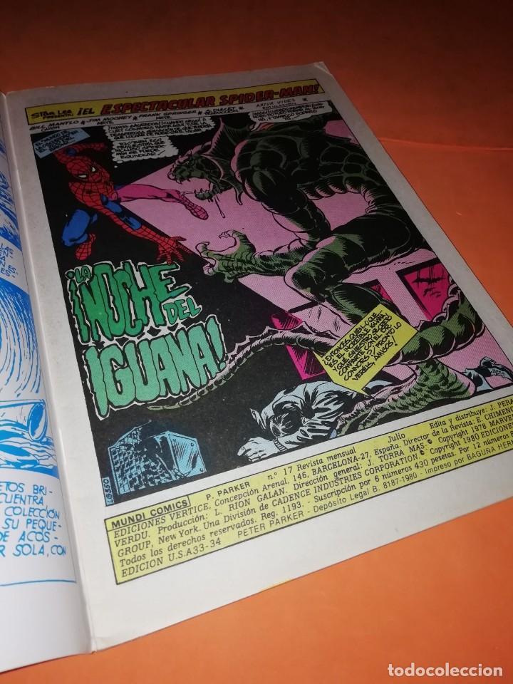 Cómics: PETER PARKER SPIDERMAN. VOL 1 . Nº 17. LA NOCHE DEL IGUANA. EDICIONES VERTICE - Foto 5 - 228033855