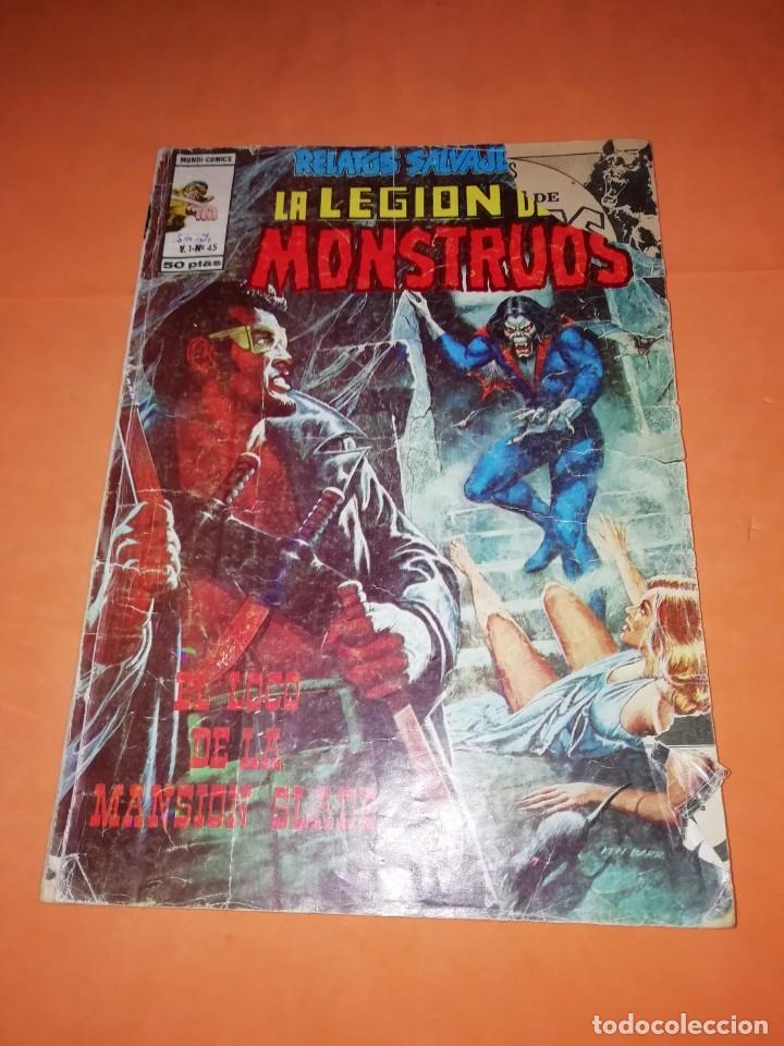 RELATOS SALVAJES. Nº 45. EL LOCO DE LA MANSION SLADE. EDICIONES VERTICE. (Tebeos y Comics - Vértice - Relatos Salvajes)