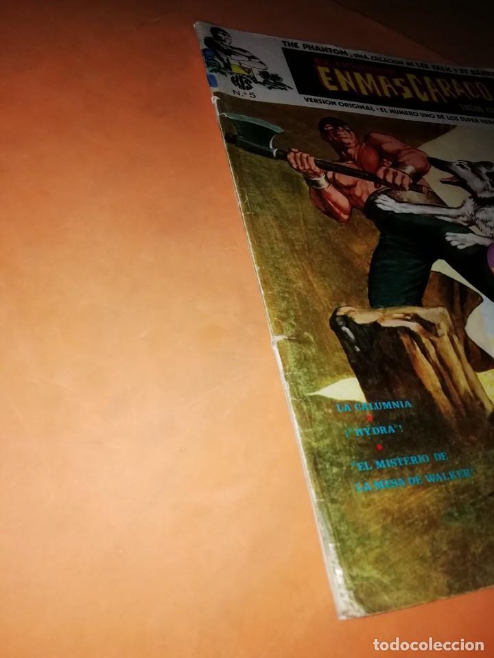 Cómics: EL HOMBRE ENMASCARADO. Nº 5 . EDICIONES VERTICE 1974 - Foto 3 - 228156913