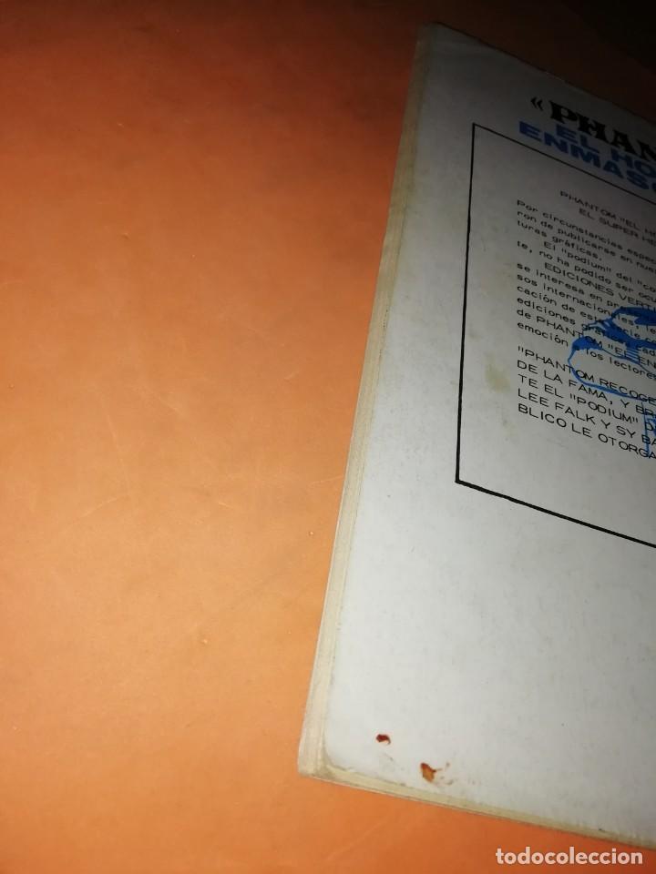 Cómics: EL HOMBRE ENMASCARADO. Nº 5 . EDICIONES VERTICE 1974 - Foto 4 - 228156913