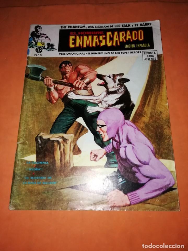 EL HOMBRE ENMASCARADO. Nº 5 . EDICIONES VERTICE 1974 (Tebeos y Comics - Vértice - Hombre Enmascarado)