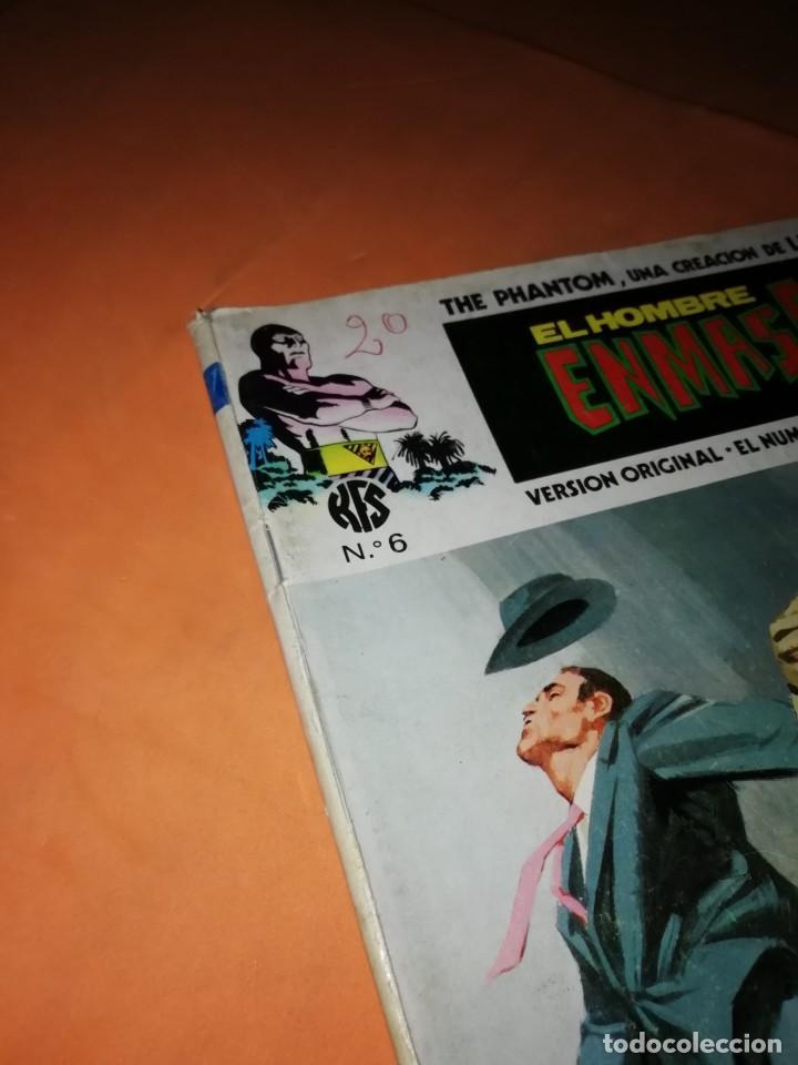 Cómics: EL HOMBRE ENMASCARADO. Nº 6 . EDICIONES VERTICE 1974 - Foto 5 - 228158395