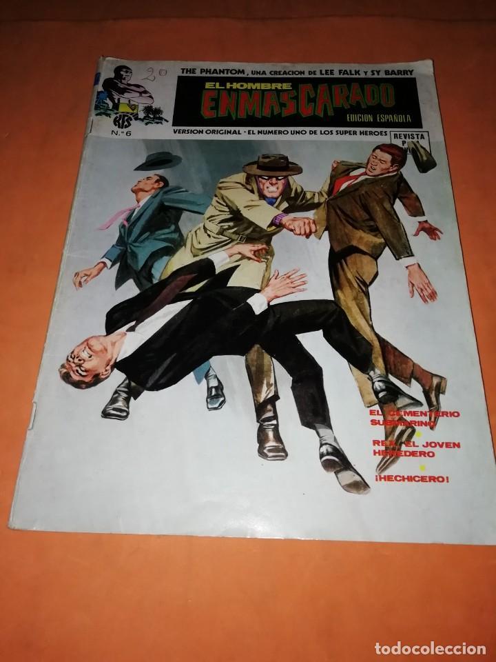 EL HOMBRE ENMASCARADO. Nº 6 . EDICIONES VERTICE 1974 (Tebeos y Comics - Vértice - Hombre Enmascarado)