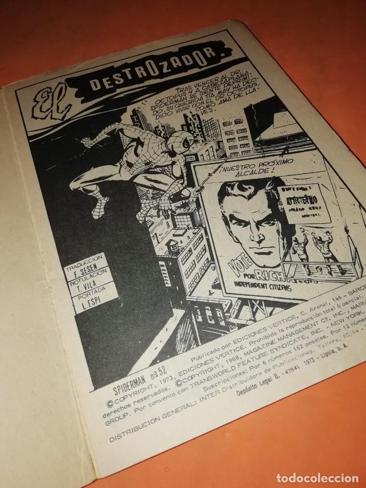 Cómics: SPIDERMAN. VOL 1 Nº 52. EL DESTROZADOR. VERTICE TACO. - Foto 2 - 228173835