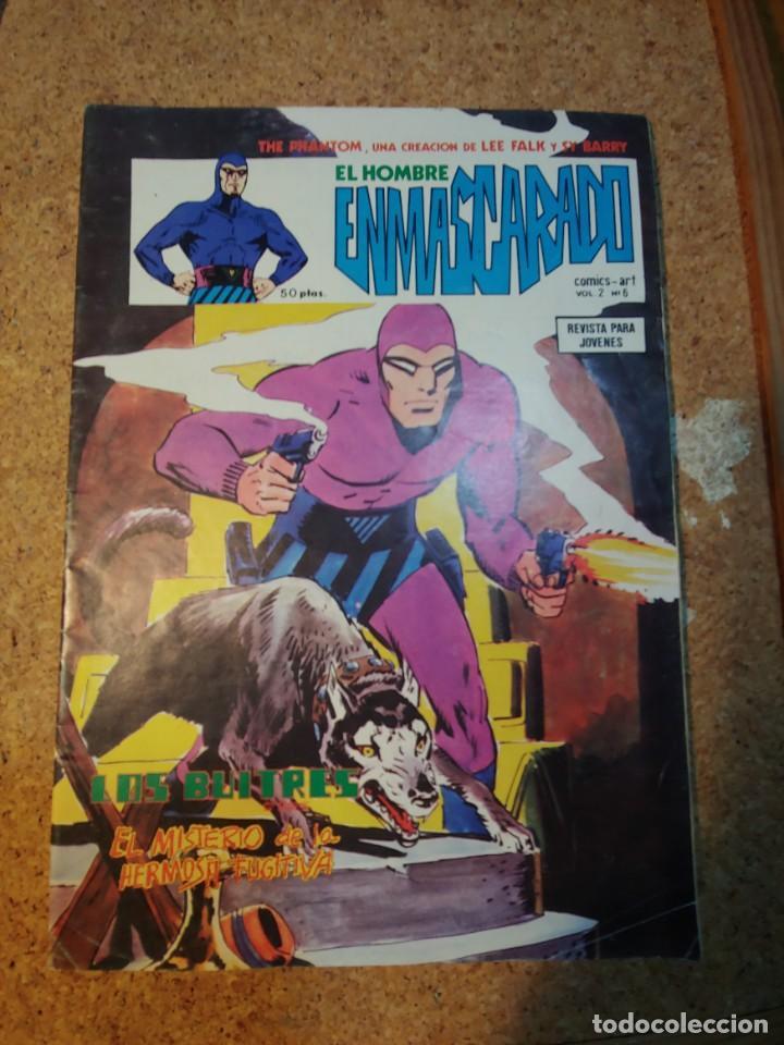COMIC DEL HOMBRE ENMASCARADO EN LOS BUITRES VOL 2 Nº 6 (Tebeos y Comics - Vértice - Hombre Enmascarado)