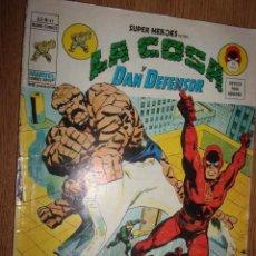 Comics: LA COSA Y DAN DEFENSOR V.2 Nº41.. Lote 228615025