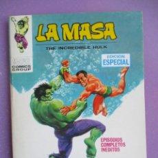 Cómics: LA MASA Nº 8 VERTICE TACO ¡¡¡ MUY BUEN ESTADO!!!. Lote 228653905