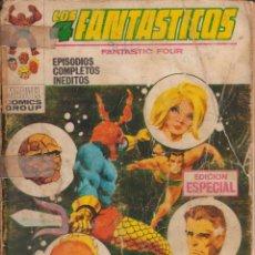 """Cómics: CÓMIC ` LOS 4 FANTÁSTICOS ´ Nº 15 ED. VÉRTICE FRMTO. """"TACO"""" 128 PGS.. Lote 228666495"""