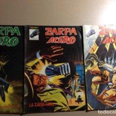 Cómics: ZARPA DE ACERO NÚMERO 1 A 3. Lote 228770070