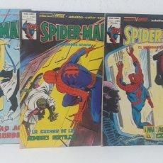 Cómics: UN LOTE DE TRES COMICS VERTICE SPIDERMAN EL HOMBRE ARAÑA VOL.3 N°63-G -- N°63-I -- N°63-F. Lote 228788610
