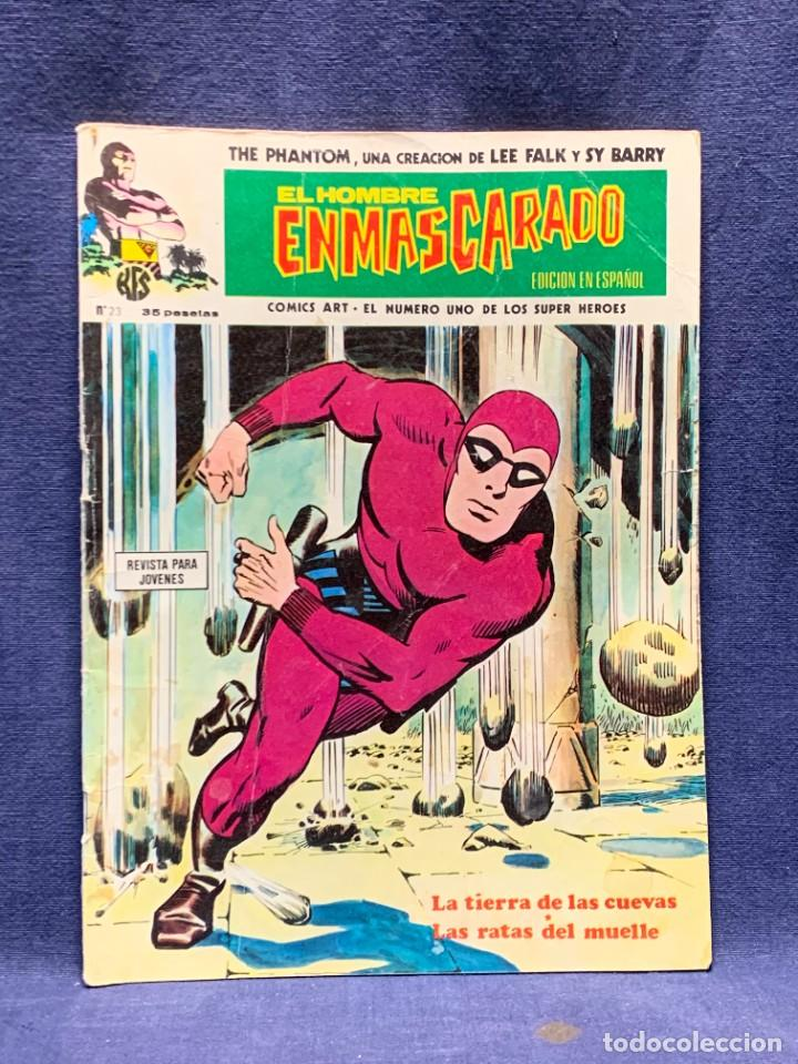 THE PHANTOM COMIC EL HOMBRE ENMASCARADO EDICION EN ESPAÑOL N 23 2ª PARTE 28X20,5CMS (Tebeos y Comics - Vértice - Hombre Enmascarado)