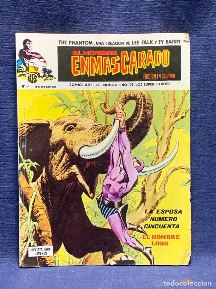 THE PHANTOM COMIC EL HOMBRE ENMASCARADO EDICION EN ESPAÑOL N 19 28X20,5CMS (Tebeos y Comics - Vértice - Hombre Enmascarado)