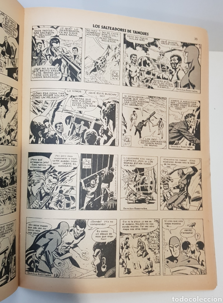 Cómics: EL HOMBRE ENMASCARADO VOLUMEN 1 - 1973 VÉRTICE - GRAPA - EDICIÓN ESPAÑOLA - Foto 3 - 229102950