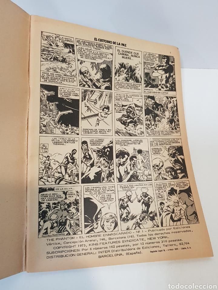 Cómics: EL HOMBRE ENMASCARADO VOLUMEN 1 - 1973 VÉRTICE - GRAPA - EDICIÓN ESPAÑOLA - Foto 4 - 229102950