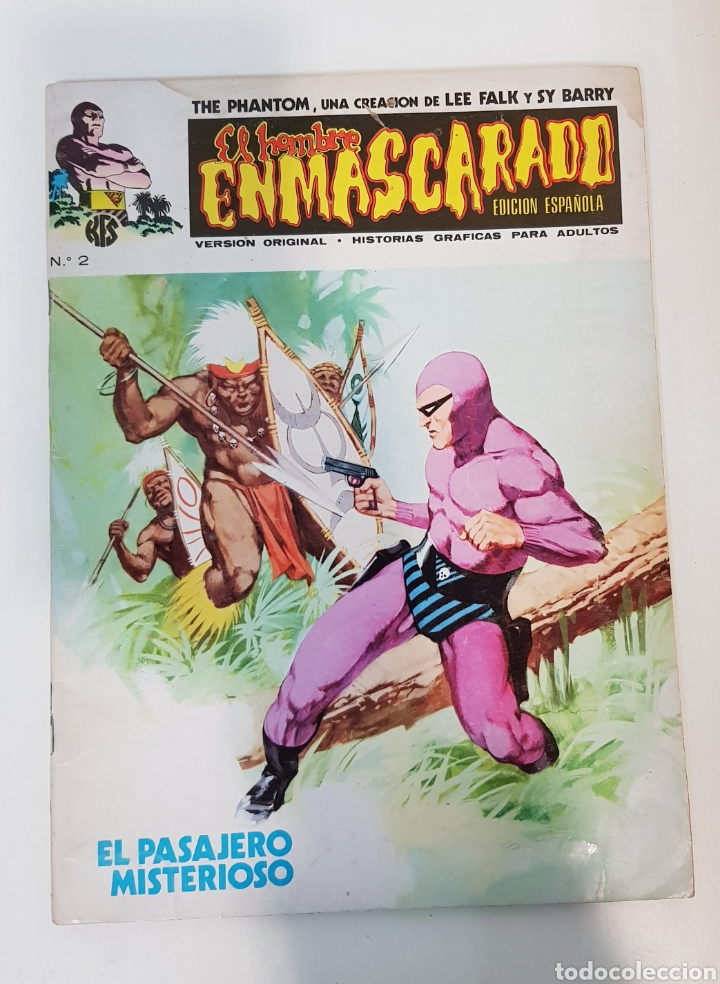 Cómics: EL HOMBRE ENMASCARADO VOLUMEN 1 - 1973 VÉRTICE - GRAPA - EDICIÓN ESPAÑOLA - Foto 6 - 229102950