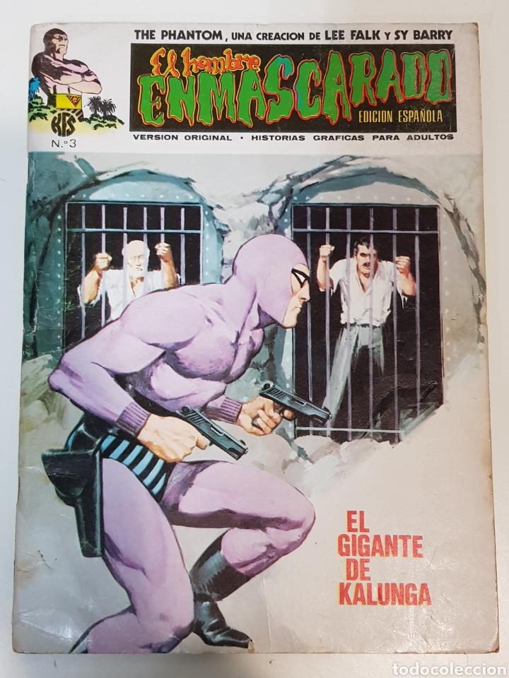 Cómics: EL HOMBRE ENMASCARADO VOLUMEN 1 - 1973 VÉRTICE - GRAPA - EDICIÓN ESPAÑOLA - Foto 7 - 229102950