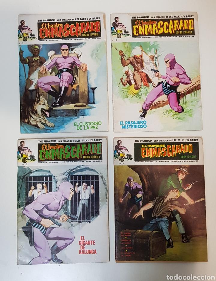 EL HOMBRE ENMASCARADO VOLUMEN 1 - 1973 VÉRTICE - GRAPA - EDICIÓN ESPAÑOLA (Tebeos y Comics - Vértice - Hombre Enmascarado)