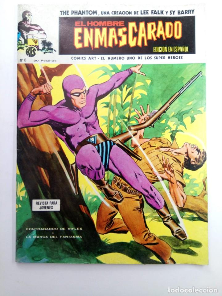 EL HOMBRE ENMASCARADO Nº 15 - EDICIONES VÉRTICE 1974 (Tebeos y Comics - Vértice - Hombre Enmascarado)
