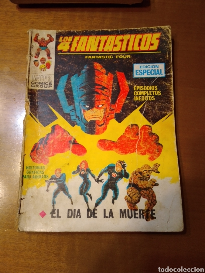 Cómics: Lote de 4 comics Vértice taco Dan Defensor Los 4 Fantásticos El Hombre de Hierro - Foto 2 - 229377275