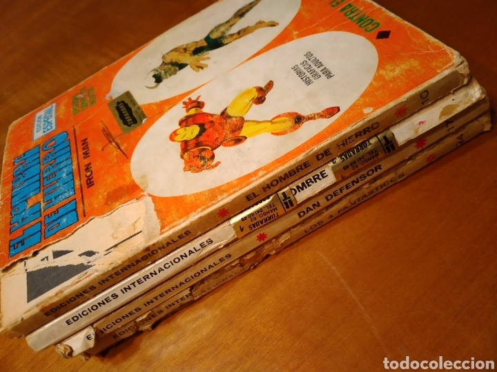 Cómics: Lote de 4 comics Vértice taco Dan Defensor Los 4 Fantásticos El Hombre de Hierro - Foto 6 - 229377275