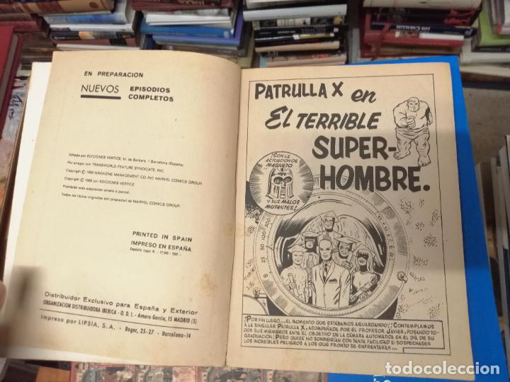 Cómics: PATRULLA X. X-MEN. EPISODIOS COMPLETOS. ED. INTERNACIONALES , Nº 3. EDICIÓN ESPECIAL. VÉRTICE. - Foto 3 - 229520865