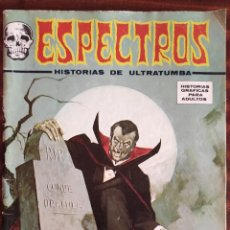 Comics: ESPECTROS Nº 31. 1974. LA TUMBA DE DRACULA. VERTICE.. Lote 229575260
