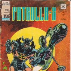 """Cómics: CÓMIC MARVEL """" PATRULLA - X ´ Nº 21 ED. VÉRTICE V. 3. Lote 229592835"""