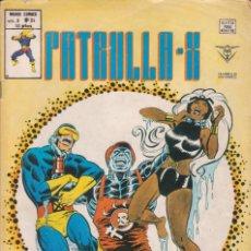 """Cómics: CÓMIC MARVEL """" PATRULLA - X ´ Nº 34 ED. VÉRTICE V. 3. Lote 229594520"""
