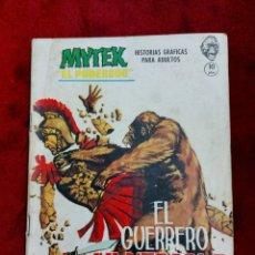Cómics: MYTEK COMIC VERTICE GRAPA EL GUERRERO INVULNERABLE NUMERO 17 MYTEK EL PODEROSO 1965. Lote 229778150