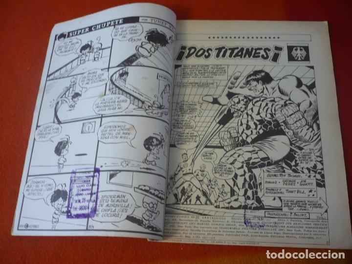 Cómics: LOS 4 FANTASTICOS VOL. 2 Nº 20 VERTICE MUNDI COMICS - Foto 4 - 229791620