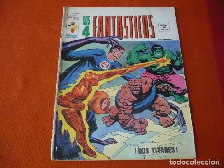 LOS 4 FANTASTICOS VOL. 2 Nº 20 VERTICE MUNDI COMICS (Tebeos y Comics - Vértice - 4 Fantásticos)