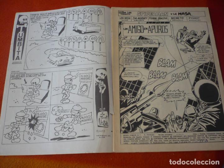 Cómics: SPIDERMAN Y LA MASA Nº 9 SUPER HEROES PRESENTA VERTICE MUNDI COMICS - Foto 2 - 229792700