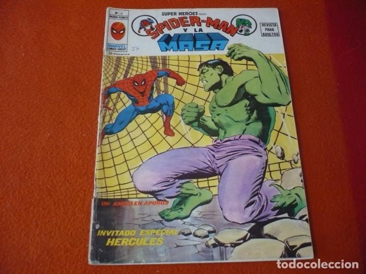SPIDERMAN Y LA MASA Nº 9 SUPER HEROES PRESENTA VERTICE MUNDI COMICS (Tebeos y Comics - Vértice - Super Héroes)