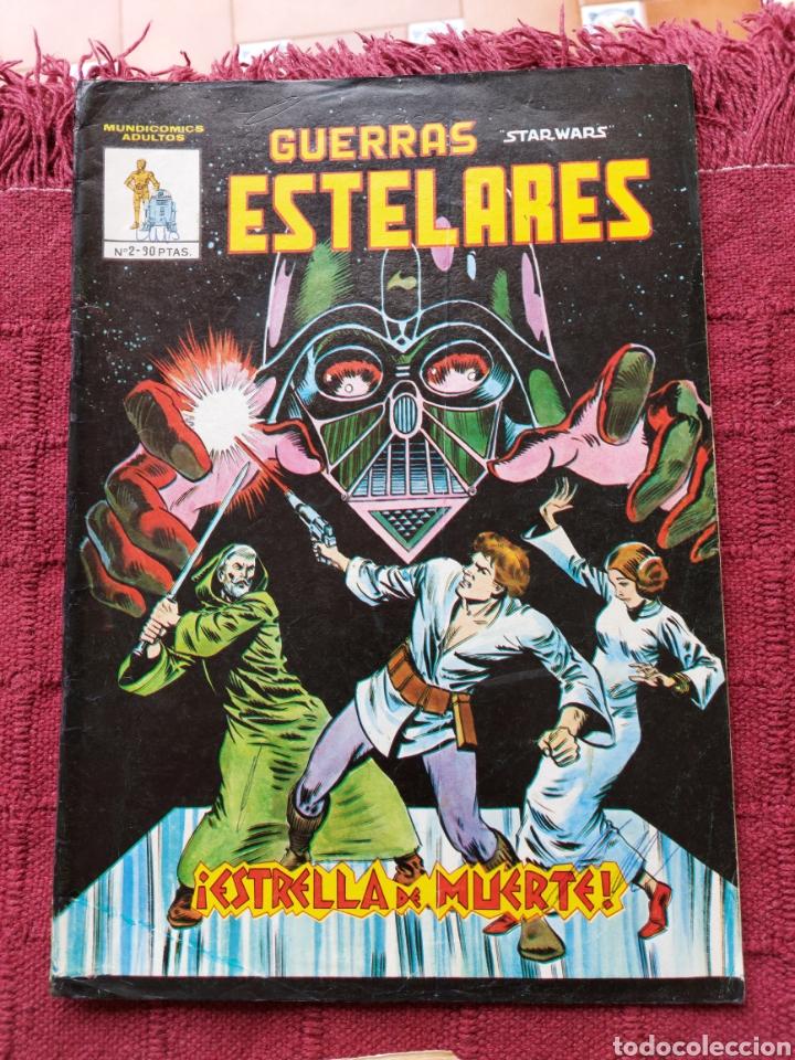 Cómics: COMIC DE LA GERRA DE LAS GALAXIAS GUERRAS ESTELARES NUMEROS 1,2 Y 8 STAR WARS VERTICE/CIENCIA FICCIÓ - Foto 2 - 229840210