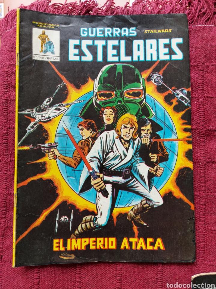 Cómics: COMIC DE LA GERRA DE LAS GALAXIAS GUERRAS ESTELARES NUMEROS 1,2 Y 8 STAR WARS VERTICE/CIENCIA FICCIÓ - Foto 3 - 229840210