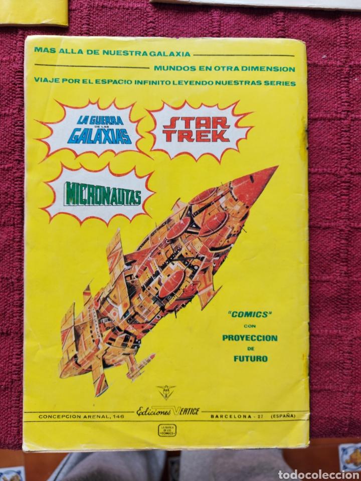 Cómics: COMIC DE LA GERRA DE LAS GALAXIAS GUERRAS ESTELARES NUMEROS 1,2 Y 8 STAR WARS VERTICE/CIENCIA FICCIÓ - Foto 7 - 229840210