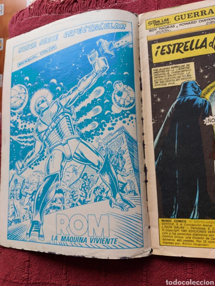 Cómics: COMIC DE LA GERRA DE LAS GALAXIAS GUERRAS ESTELARES NUMEROS 1,2 Y 8 STAR WARS VERTICE/CIENCIA FICCIÓ - Foto 14 - 229840210