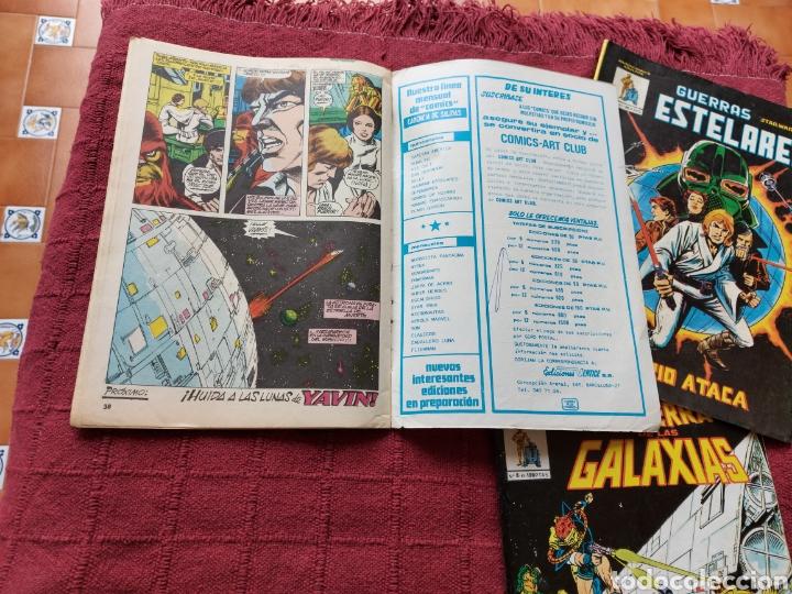 Cómics: COMIC DE LA GERRA DE LAS GALAXIAS GUERRAS ESTELARES NUMEROS 1,2 Y 8 STAR WARS VERTICE/CIENCIA FICCIÓ - Foto 16 - 229840210