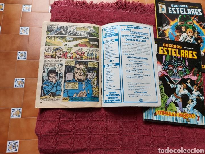 Cómics: COMIC DE LA GERRA DE LAS GALAXIAS GUERRAS ESTELARES NUMEROS 1,2 Y 8 STAR WARS VERTICE/CIENCIA FICCIÓ - Foto 23 - 229840210