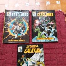 Cómics: COMIC DE LA GERRA DE LAS GALAXIAS GUERRAS ESTELARES NUMEROS 1,2 Y 8 STAR WARS VERTICE/CIENCIA FICCIÓ. Lote 229840210