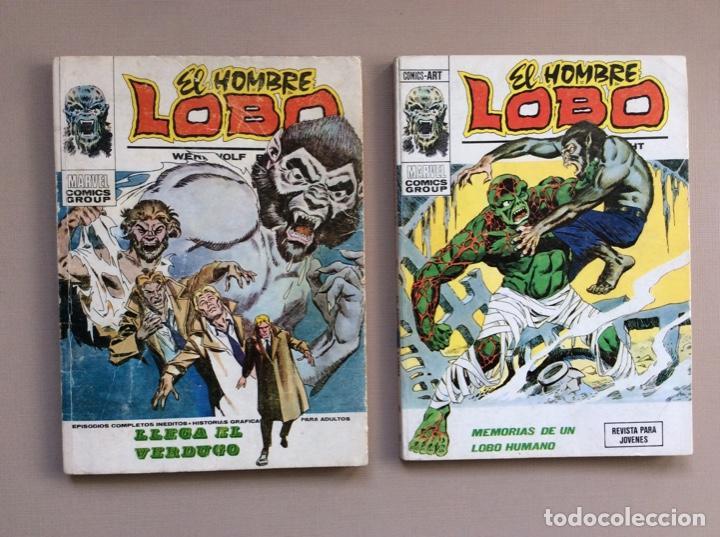 Cómics: EL HOMBRE LOBO / WEREWOLF VOLUMEN 1 Y 2 Completa - Foto 9 - 266647983