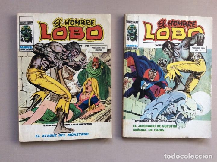 Cómics: EL HOMBRE LOBO / WEREWOLF VOLUMEN 1 Y 2 Completa - Foto 11 - 266647983