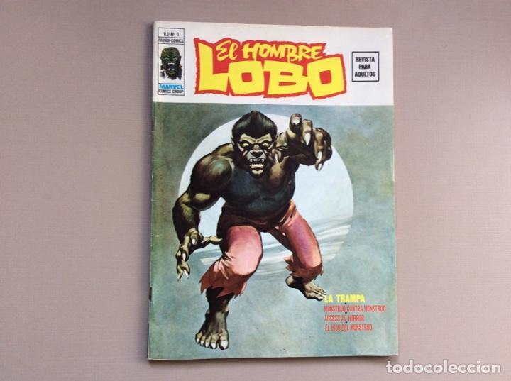 Cómics: EL HOMBRE LOBO / WEREWOLF VOLUMEN 1 Y 2 Completa - Foto 13 - 266647983