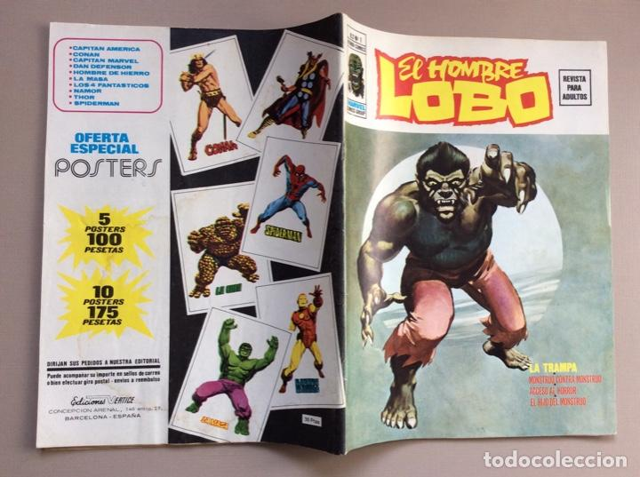 Cómics: EL HOMBRE LOBO / WEREWOLF VOLUMEN 1 Y 2 Completa - Foto 16 - 266647983
