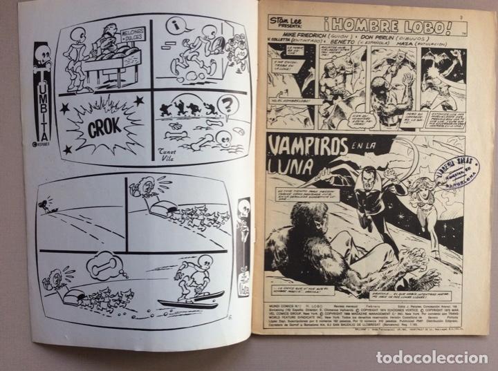 Cómics: EL HOMBRE LOBO / WEREWOLF VOLUMEN 1 Y 2 Completa - Foto 20 - 266647983