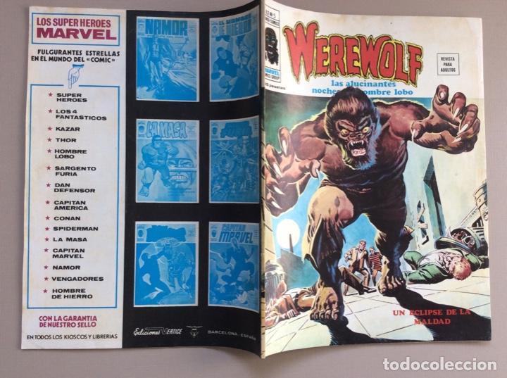 Cómics: EL HOMBRE LOBO / WEREWOLF VOLUMEN 1 Y 2 Completa - Foto 38 - 266647983