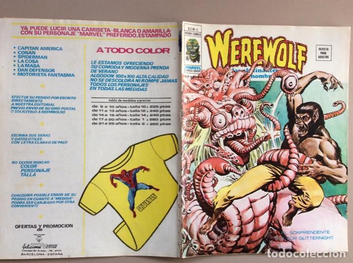 Cómics: EL HOMBRE LOBO / WEREWOLF VOLUMEN 1 Y 2 Completa - Foto 43 - 266647983